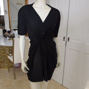 Balenciaga Black Dress